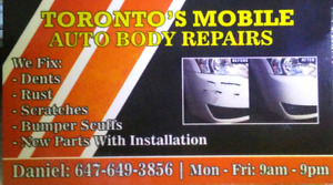 Mobile Rust And Scratch Repairs