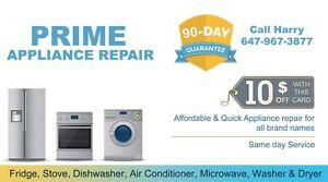 Fridge,Stove,Dishwasher,Washer & Dryer Repair and Installations Oakville / Halton Region Toronto (GTA) image 2