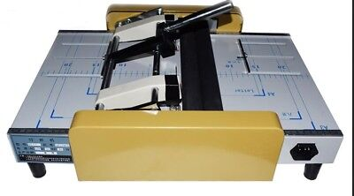 A3 Booklet Making Machine Paper Bookbinding And Folding Booklet Stapling T