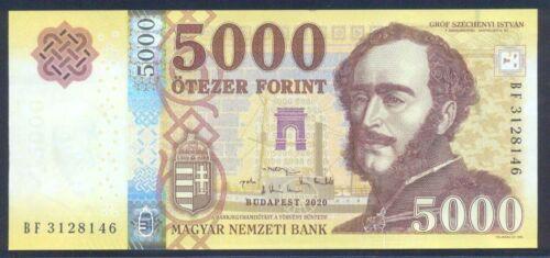 Hungary 5000 forint 2020 UNC