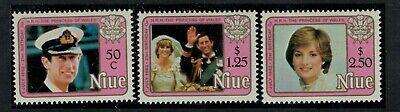 Niue Scott 354 - 356 in MNH Condition