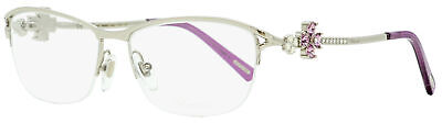 Chopard Semi-Rimless Eyeglasses VCHA69S 0579 Palladium/Violet 55mm A69
