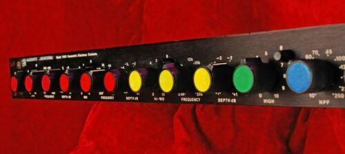 AUDIOARTS  AUDIO ARTS MODEL 1400  PARAMETRIC EQUALIZER CROSSOVER CLASSIC