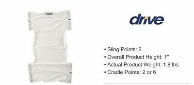Drive Medical Patient Lift Sling 13025 Polyester Mesh NIP! Drive Medical Patient Slings