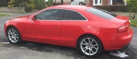 Audi A5 coupe full spec 2009 1.8 red