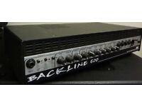 GALLIEN KREUGER BASS GUITAR AMP - BACKLINE 600 - 300W RMS