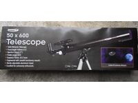 ZENNOX Refractor Telescope 50 X 600 With 100x Magnification