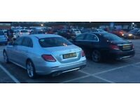 PCO Car Hire £310pw Mercedes E220 AMG Including Insurance