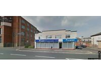 Excellent retail space on busy road A59 New hall lane near preston city centre