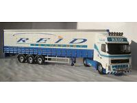 Corgi CC14003, Volvo FH C/Sider Reid Transport Group, 1:50