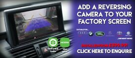 Reversing Parking Camera to your Factory Stereo Screen Audi BMW Mercedes Land Rover Porsche Ford VW