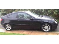 "Mercedes C180K Coupe ""CAT D REPAIRED"" - NON RUNNER - Spare or Repair (Manual)"