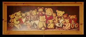 Two large Teddy Bear pictures