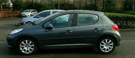 Peugeot 207 1.6 hdi 110bhp with panoramic roof