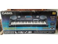 New and unused Casio Electronic CTK-731 Keyboards