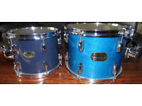 Pearl Tom Drums 13 inch & 14 inch