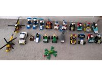 Selection of Genuine LEGO Minifigures with Vehicles City Police etc from £2 each