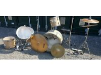 Nevada Pro Drum Kit with various accessories