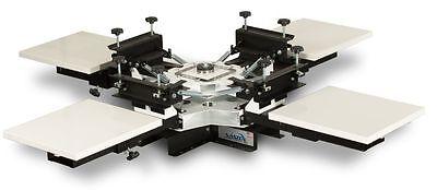 Vastex V100 4 Color 4 Station Table Top Press