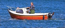 Trusty 15 Cabin Cruiser, Excellent sea boat