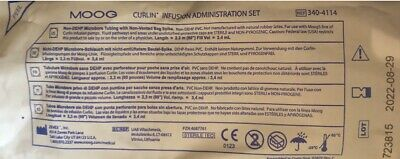 Moog Curlin Infusion Administration Set Iv Pump Tubing 340-4114