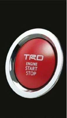 (NEW) JDM TOYOTA C-HR TRD Push Start Switch for Turbo Gasoline Car OEM
