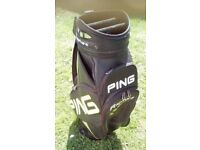 Ping rapture cart bag