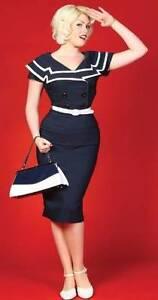 """Bettie Page """"Captain"""" Pencil Dress Thornlie Gosnells Area Preview"""