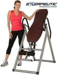 NEW EXERPEUTIC INVERSION TABLE STRETCH 300  EXERCISE FITNESS EQUIPMENT 107963448