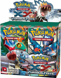Pokemon XY FURIOUS FISTS Booster