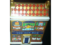 Very Rare Retired Royal Crown Derby The Toy Box House