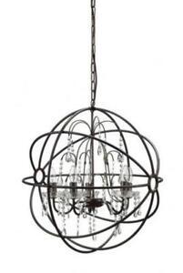 Vintage chandelier ebay vintage metal chandelier aloadofball Gallery