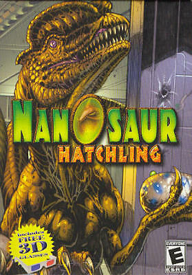 Nanosaur Hatchling (Classic PC Game) Pterodactyl Dinosaur (save the eggs!)