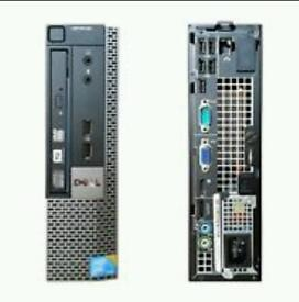 Dell optiplex 780 ultra small form computer pc tower with built in wifi