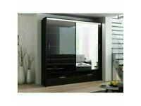 🔵💖🔴BEST QUALITY 🔵💖🔴MARSYLIA 2&3 SLIDING DOORS WARDROBE CALL NOW & GET IT DELIVERED