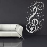 Music Note Wall Stickers