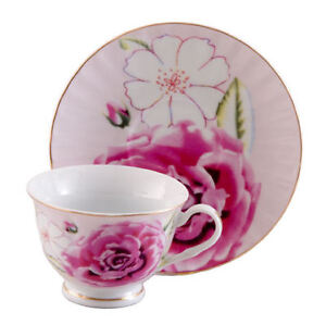 6-Pink-Morning-Inexpensive-Bulk-Discount-Tea-Cups-Teacups-Cheap-Price
