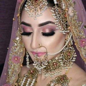 Wedding indian/Arabica makeup and Hairstylist $65up