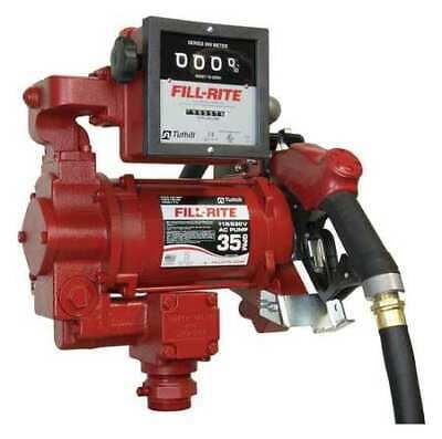 Fill-rite Fr311vb Fuel Transfer Pump 115230vac 35 Gpm 34 Hp Cast Iron