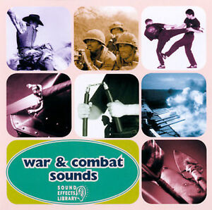 SOUND EFFECTS/VARIOU - WAR & COMBAT SOUNDS - NEW CD