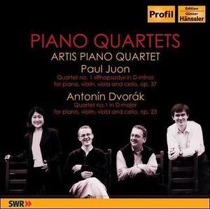 Piano Quartets (Artis Piano Quartet) CD NEW