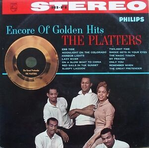 The Platters ‎– Encore Of Golden Hits phillips record