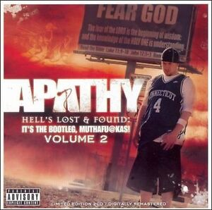 Apathy-Hell-039-s-Lost-and-Found-2xCD-Sealed-Jedi-Mind-Tricks-Army-Of-The-Pharaoh