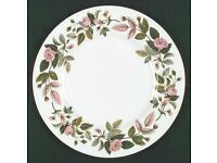 Vintage Wedgwood Hathaway Rose Bone China Collection