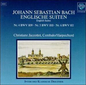 NEW English Suites IV-VI (Audio CD)