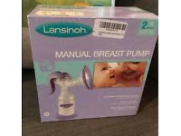 Manual Lansinho Breast Pump
