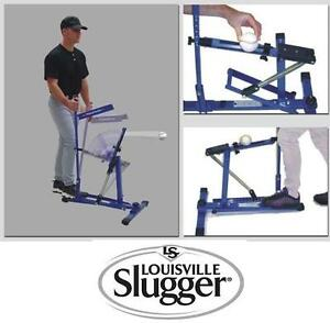 NEW* LS PITCHING MACHINE BLUE FRAME - 114223947 - LOUISVILLE SLUGGER