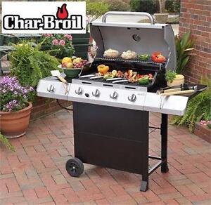 NEW* CHAR-BROIL 4-BURNER GAS GRILL Heat Output: 48000 BTU - Barbecue - PROPANE - LP - LIQUID PROPANE - BBQ 93482904