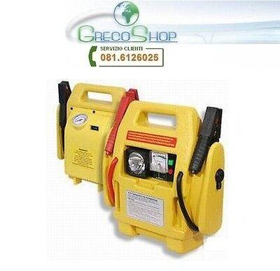 Avviatore d'emergenza/Accumulatore di energia Jump Start 12V lampada/compressore
