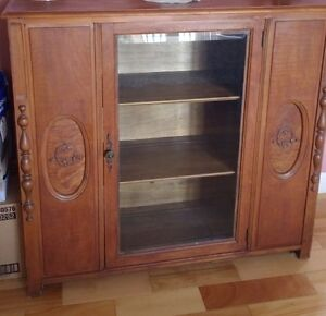 Antique Book Case/China Cabinet